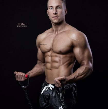 Kieran K – fitness and muscle model