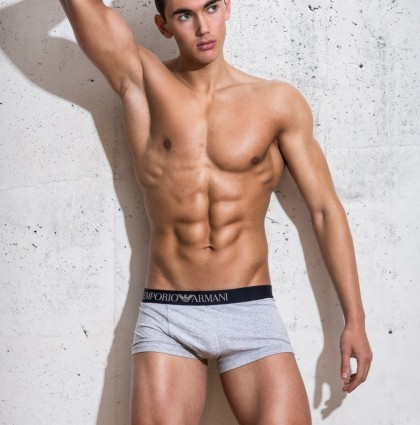 JAMES K, 22, RIPPED UNDERWEAR MODEL 11