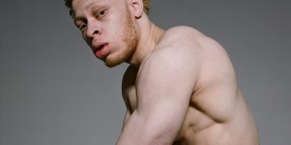 Leo, black albino RIPPED muscle model