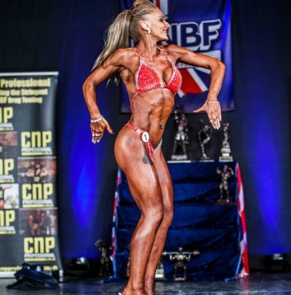 Cerys, competing bodybuilder and fitness model