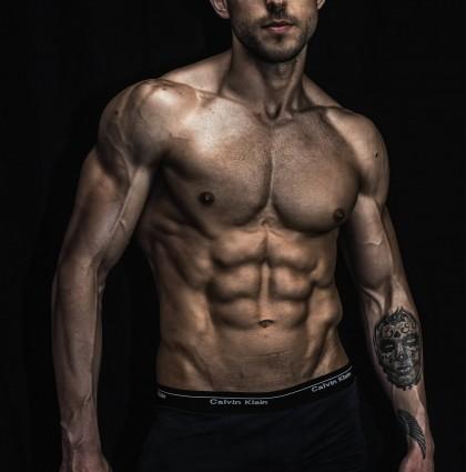 Dimitar, our Bulgarian fitness model