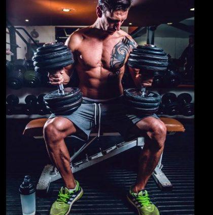 Stuart G, RIPPED Models fitness model