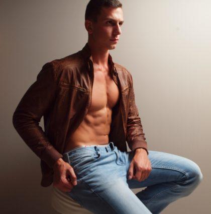 Croatian muscle-boy, Luka.