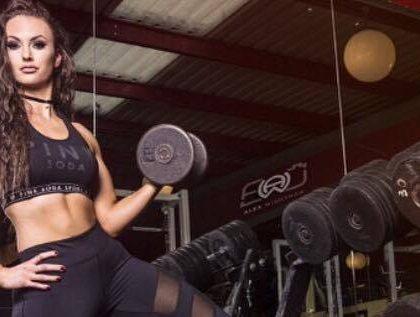 Bernie C, fitness model and dancer