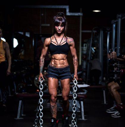 Sarah D, Ripped Models fitness model
