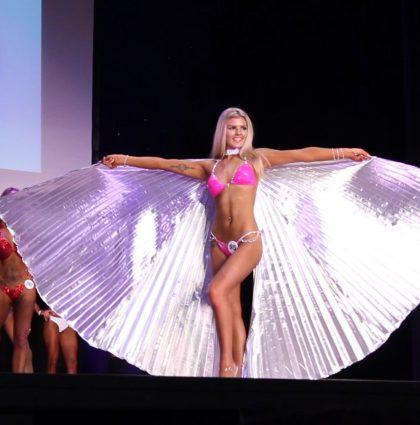 Sophie A, fitness & bikini model