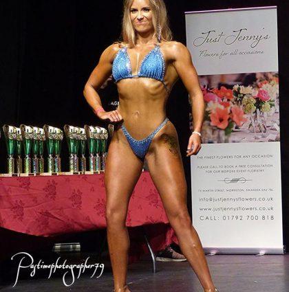 Abigail H, fitness model
