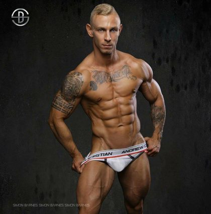 Branislav F, aesthetics and fitness