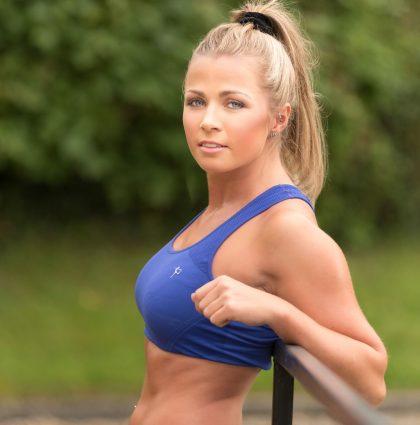 Jodie S, fitness model