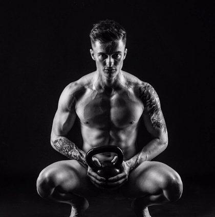 Leo M, muscle model