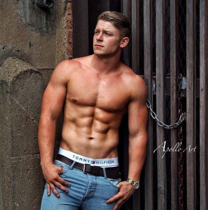 George N, fitness model