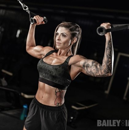 Dana H, fitness model