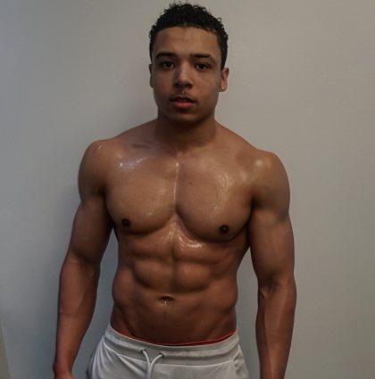 Elijah H, fitness model