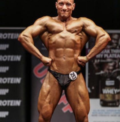 Mohamed B, bodybuilder model