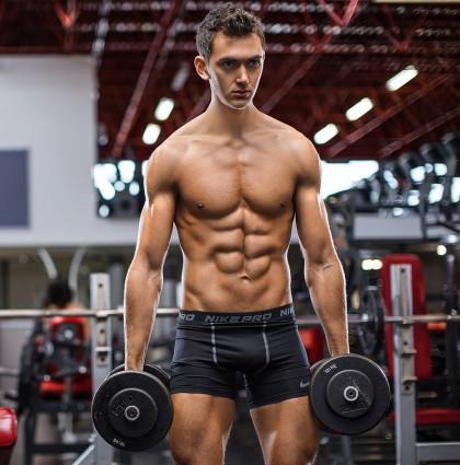 James K, underwear model