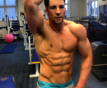 KIERAN J, 20, GOLD-WINNING BODYBUILDER
