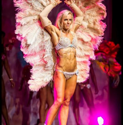 Caz, muscle model