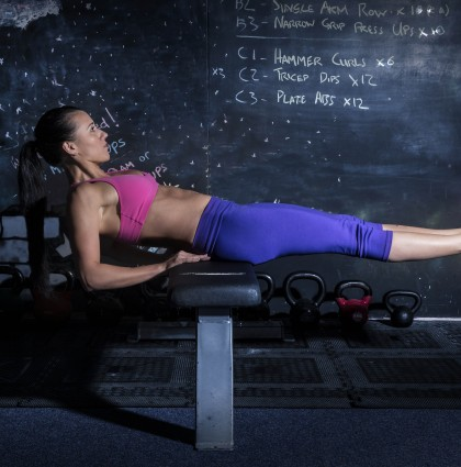 Veera, fitness model