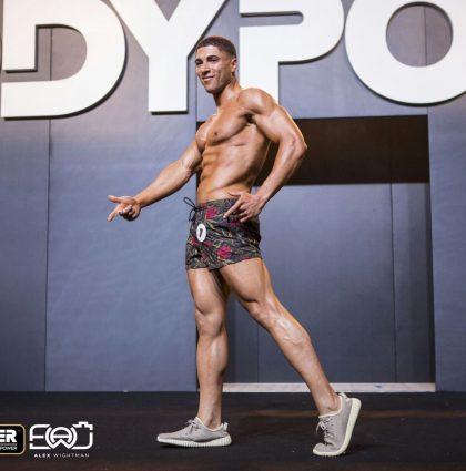 Alex T, muscle model