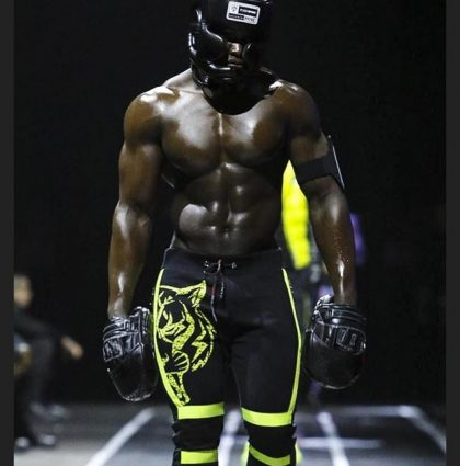Melvin B, muscle model