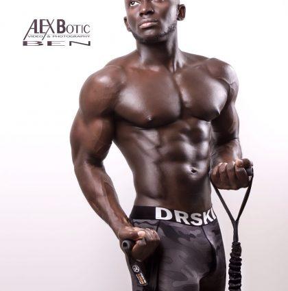 Benjamin K, fitness model