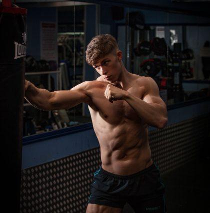 Cameron W, muscle model