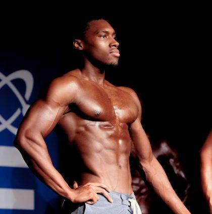 Devere P, fitness model
