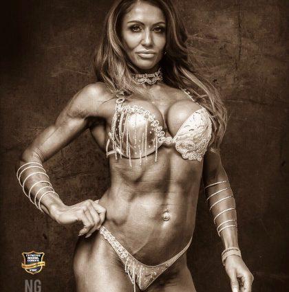 Yvette G, bikini model