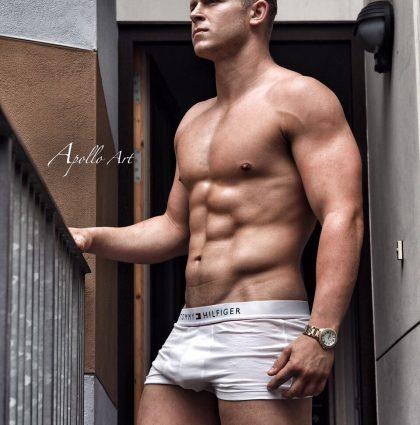 George N, muscle model