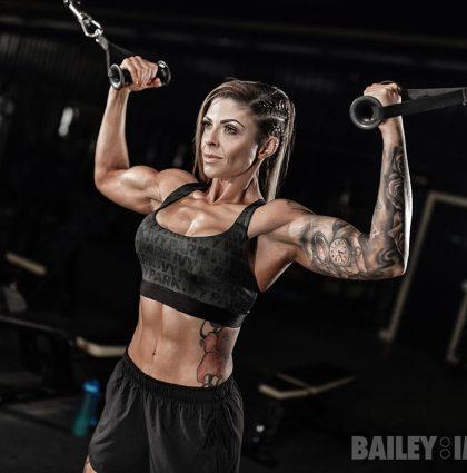 Dana H, muscle model