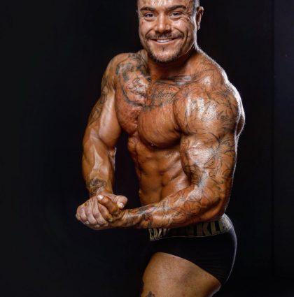 Bradley P, bodybuilder