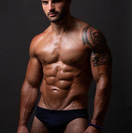 Gaetano T, muscle model