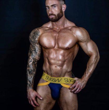 Aaron M, Underwear Model
