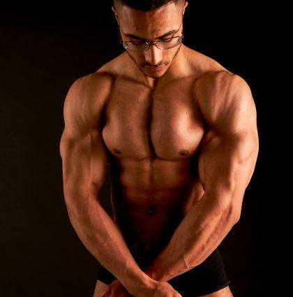 Niall D, muscle model